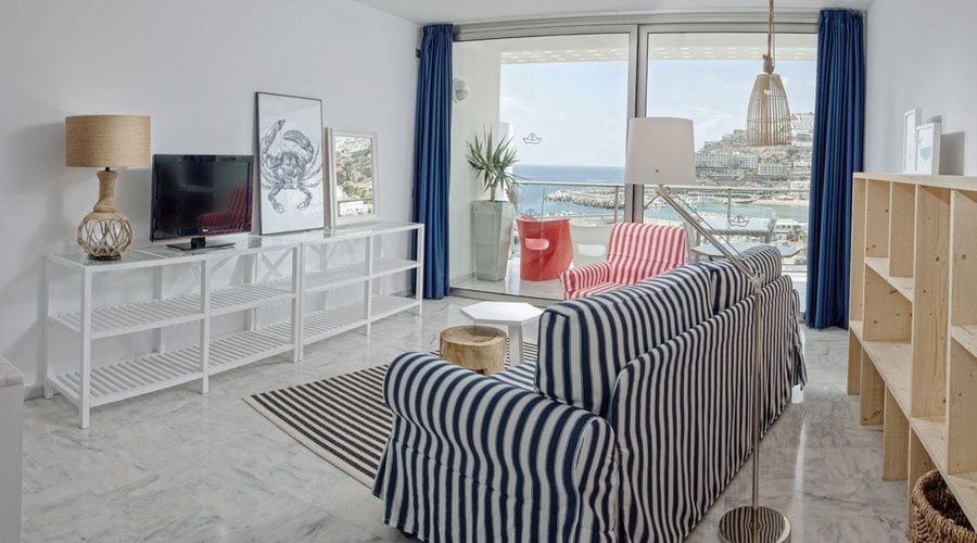 SUITE DOBLE Marina Suites en Canarias